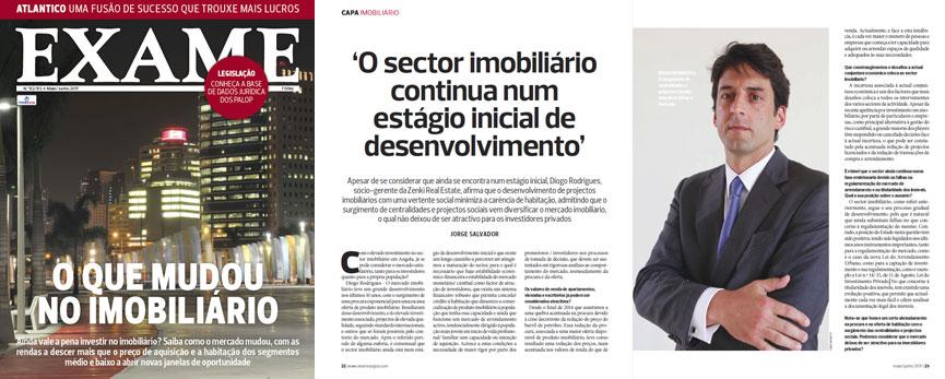 Entrevista de Diogo Rodrigues à revista Exame
